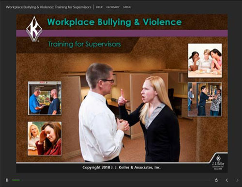 Workplace Bullying and Violence: Training for Supervisors