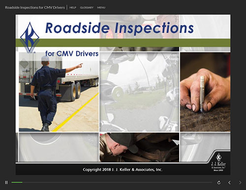 Roadside Inspections for CMV Drivers