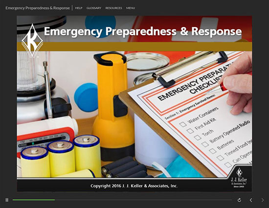 Emergency Preparedness and Response Training Course