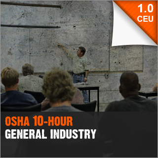OSHA 10-Hour for General Industry
