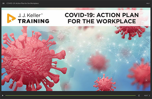 COVID-19: Action Plan for the Workplace