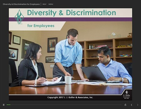 Diversity And Discrimination Online Training