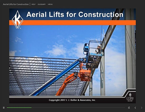 Aerial Lifts Training for Construction