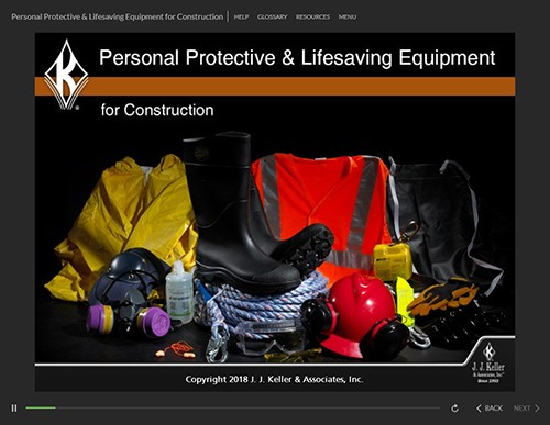 Personal Protective & Lifesaving Equipment for Construction Training
