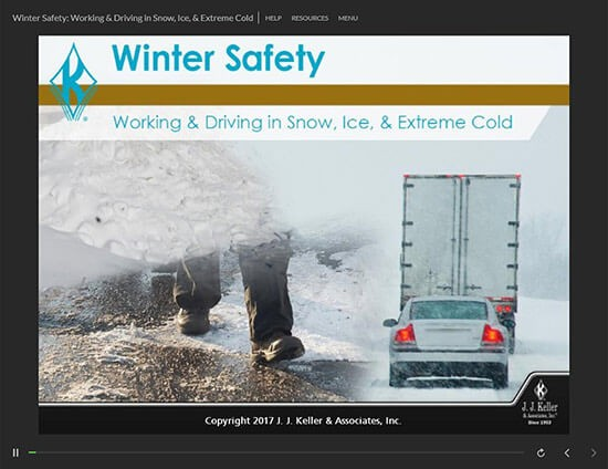 Winter Safety: Working & Driving in Snow, Ice, & Extreme Cold