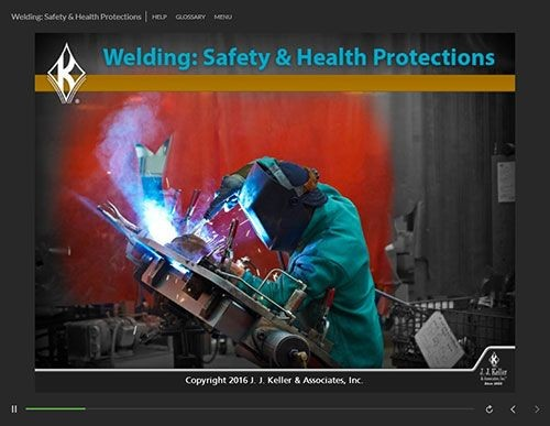 Welding Training: Safety & Health Protections