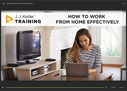 Remote Worker Training: How to Work from Home Effectively