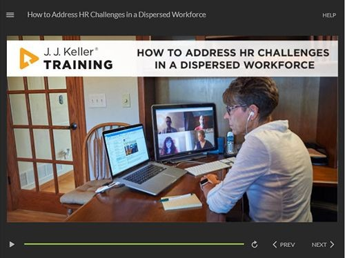 How to Address HR Challenges in a Dispersed Workforce